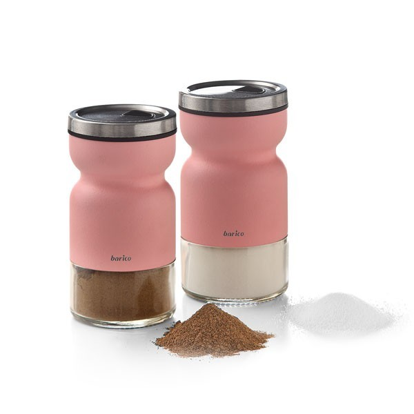 Barico - Double Peerless Spice Shaker Set with adjustable lid