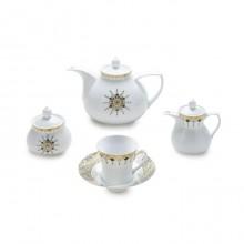 سرویس چای خوری 18 پارچه کلوپاترا سری شهرزاد چینی زرین ایران