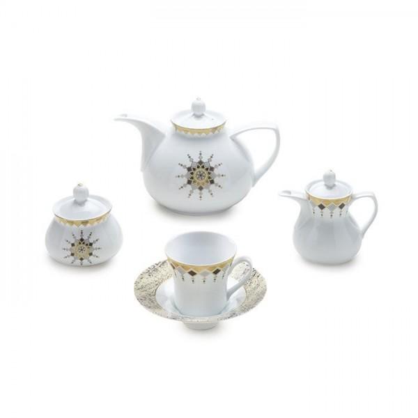 Zarin Iran Shahrzad Cleopatra 18pcs Tea Set