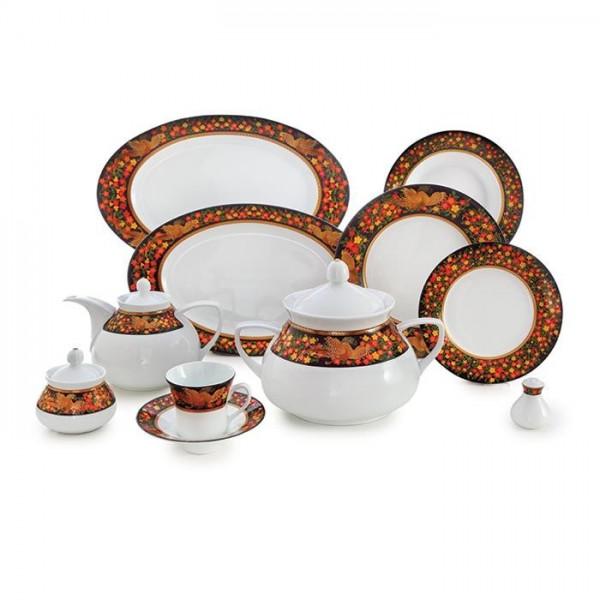 Zarin Iran Shahrzad Seemorgh 108pcs Dinnerware Set