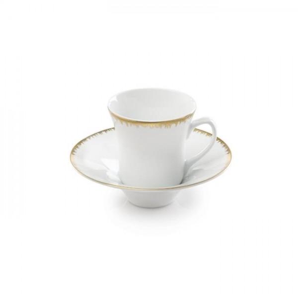 Zarin Iran Shahrzad Royal Gold 12pcs Tea Set