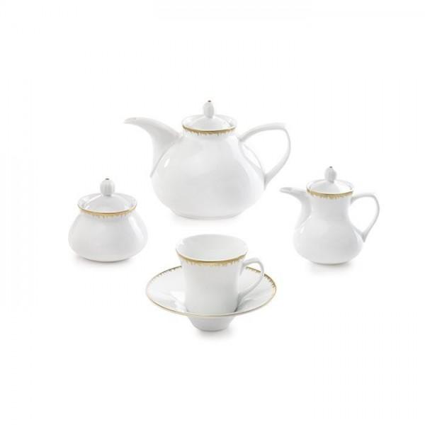 Zarin Iran Shahrzad Royal Gold 18pcs Tea Set