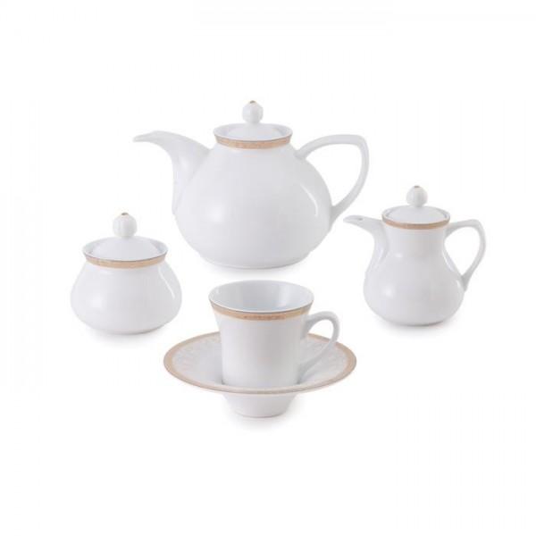 Zarin Iran Shahrzad Romina Gold 18pcs Tea Set
