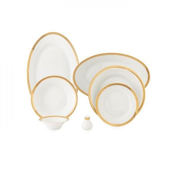 Zarin Iran Shahrzad Se-Eslimi 35pcs Dinnerware Set