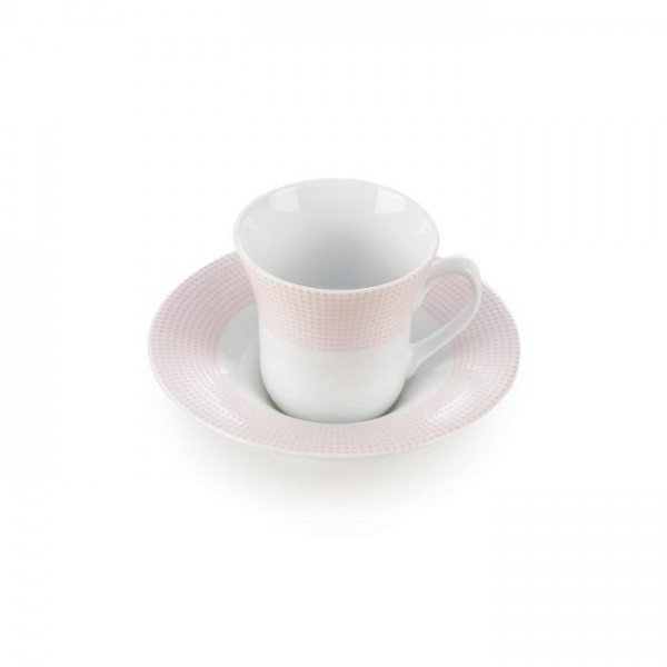 Zarin Iran Shahrzad Meridien Pink 12pcs Tea Set
