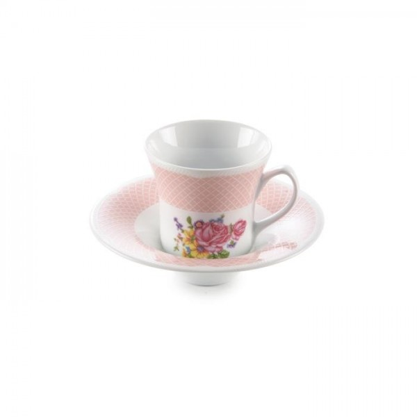 Zarin Iran Shahrzad Rosaline 12pcs Tea Set