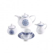 Zarin Iran Shahrzad Soltanieh Gold 18pcs Tea Set