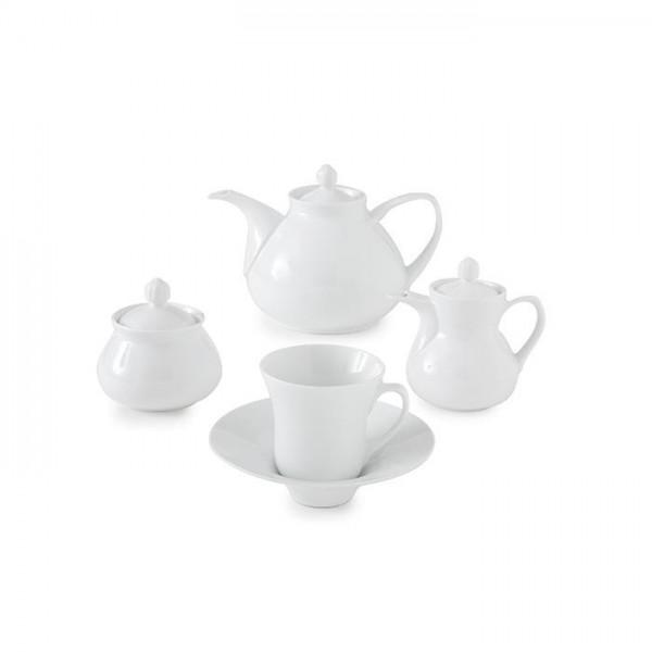 Zarin Iran Shahrzad White 18pcs Tea Set