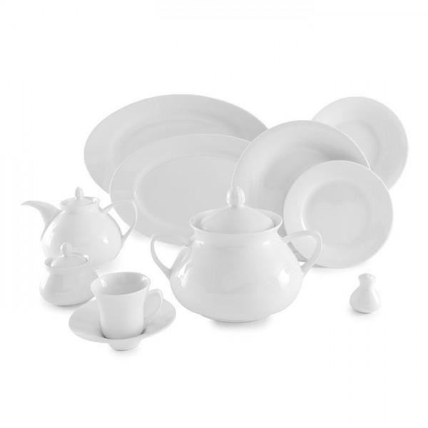 Zarin Iran Shahrzad White 108pcs Dinnerware Set