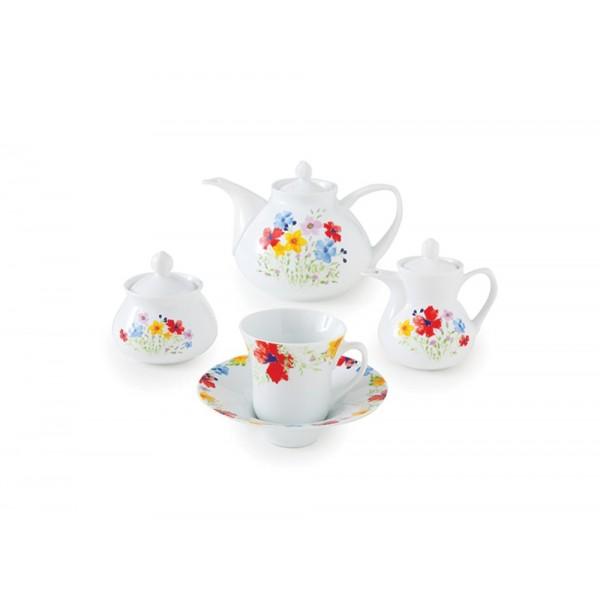 Zarin Iran Shahrzad Rangarang 18pcs Tea Set