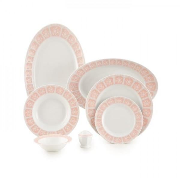 Zarin Iran Neo Classic Artemis Pink 29pcs Dinnerware Set