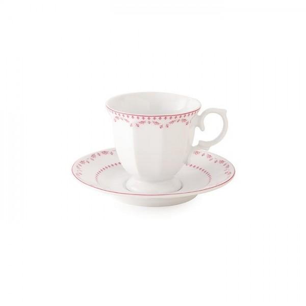 Zarin Iran Neo Classic Francis Pink 12pcs Tea Set