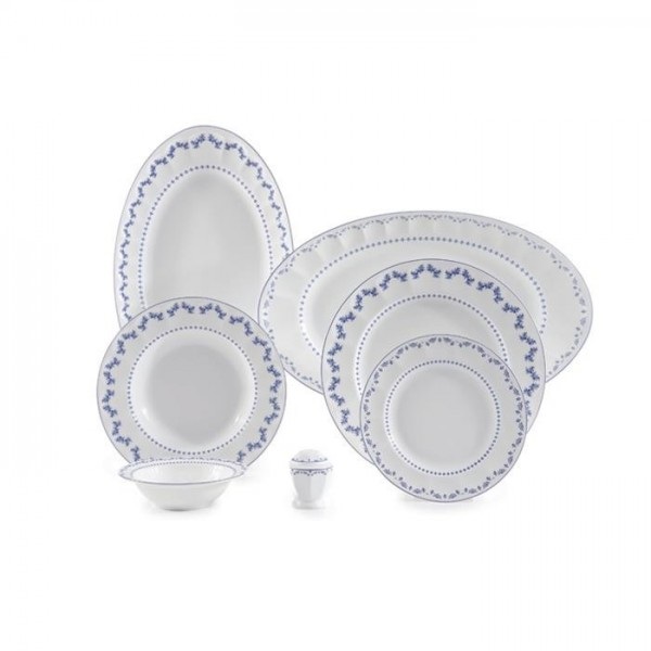 Zarin Iran Neo Classic Francis Dark Blue 29pcs Dinnerware Set