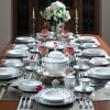 Zarin Iran Neo Classic Francis Dark Blue 103pcs Dinnerware Set