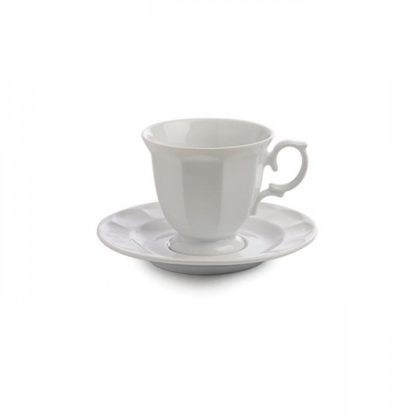 Zarin Iran Neo Classic White 12pcs Tea Set