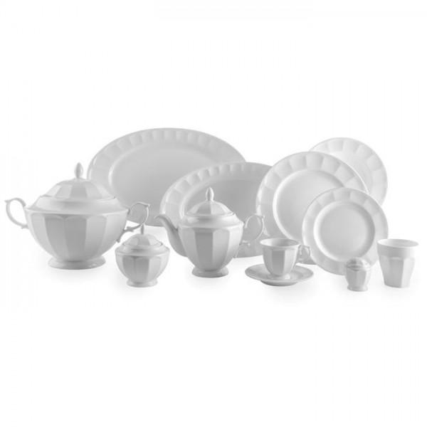 Zarin Iran Neo Classic White 103pcs Dinnerware Set