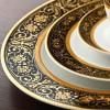 Zarin Iran Italia F Midnight 28pcs Dinnerware Set