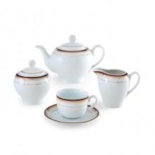 سرویس چای خوری 17 پارچه خاطره سری ایتالیا اف چینی زرین ایران