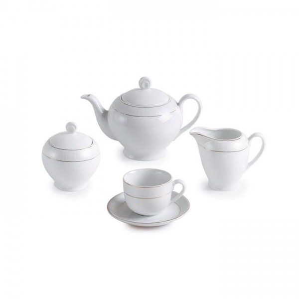 Zarin Iran Italia F Sepid Sadaf 17pcs Tea Set