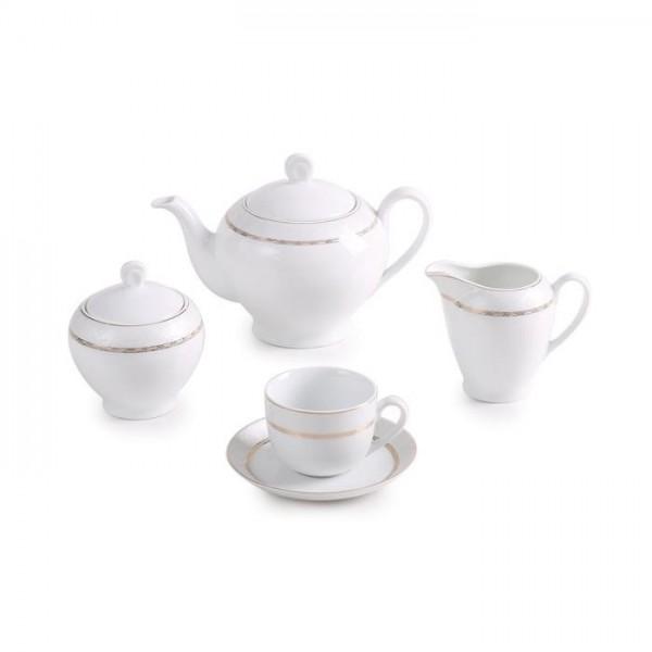 Zarin Iran Italia F Gift Gold 17pcs Tea Set