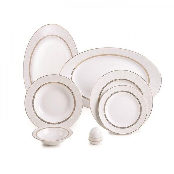 Zarin Iran Italia F Gift Gold 28pcs Dinnerware Set