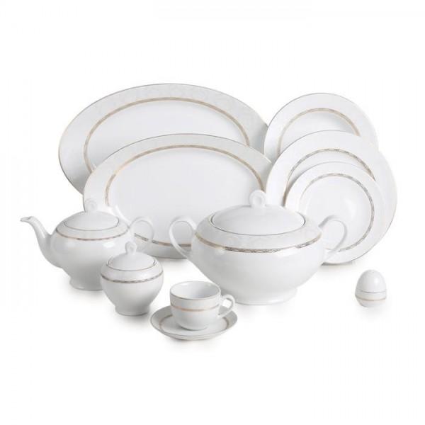 Zarin Iran Italia F Gift Gold 102pcs Dinnerware Set