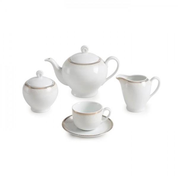 Zarin Iran Italia F Riva Gold 17pcs Tea Set