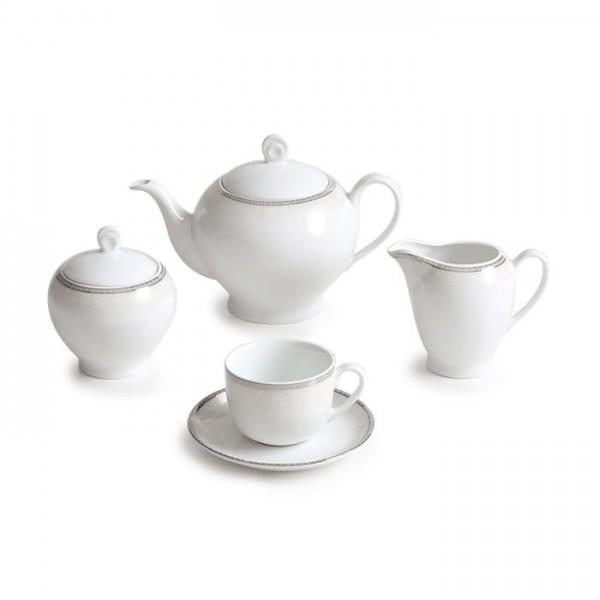 Zarin Iran Italia F Riva Platinum 17pcs Tea Set