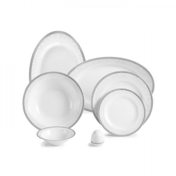 Zarin Iran Italia F Riva Platinum 28pcs Dinnerware Set