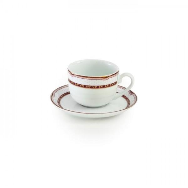 Zarin Iran Italia F Persia Red 12pcs Tea Set