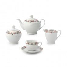 سرویس چای خوری 17 پارچه گلستان سری ایتالیا اف چینی زرین ایران
