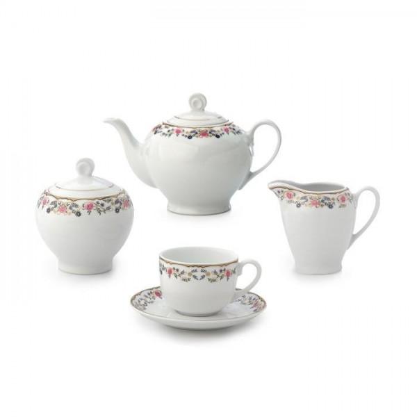 Zarin Iran Italia F Golestan 17pcs Tea Set