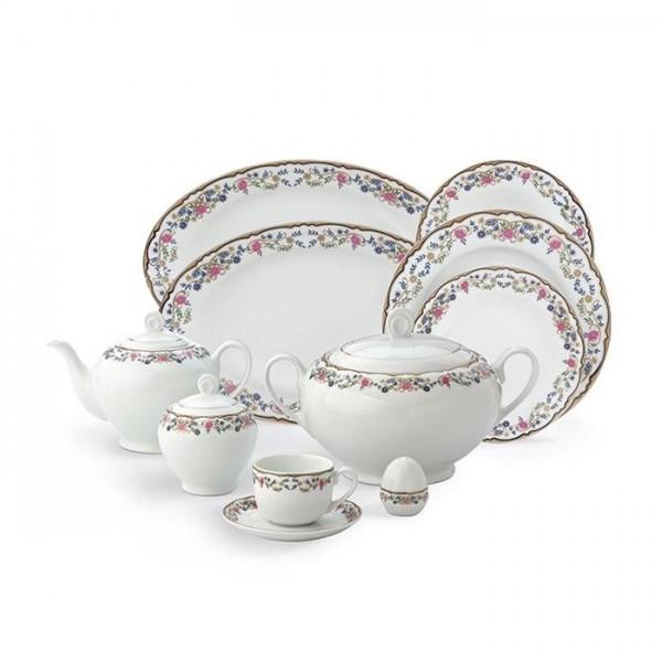 Zarin Iran Italia F Golestan 102pcs Dinnerware Set