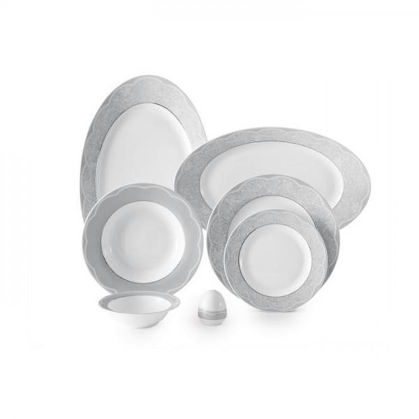 Zarin Iran Italia F Isabel Platinum 28pcs Dinnerware Set