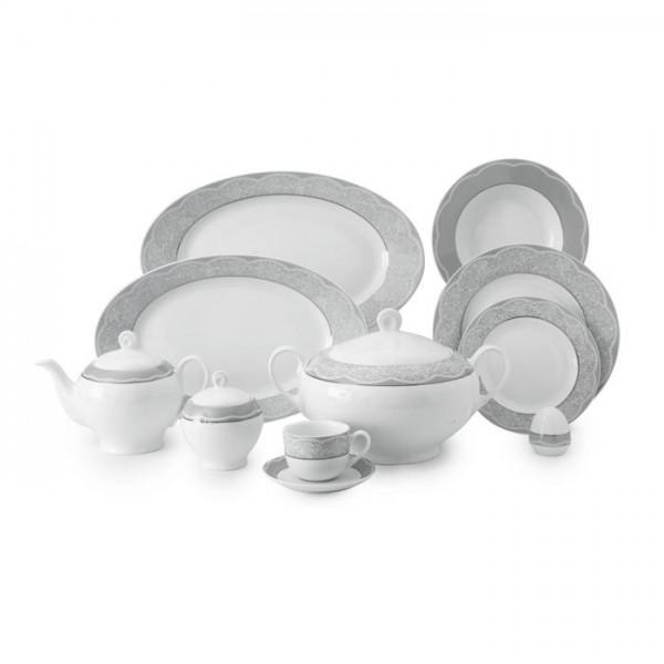 Zarin Iran Italia F Isabel Platinum 102pcs Dinnerware Set