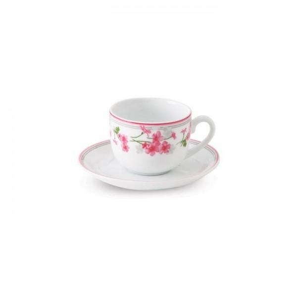 Zarin Iran Italia F Jasmin Pink 12pcs Tea Set