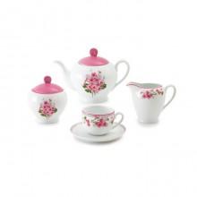 Zarin Iran Italia F Jasmin Pink 17pcs Tea Set