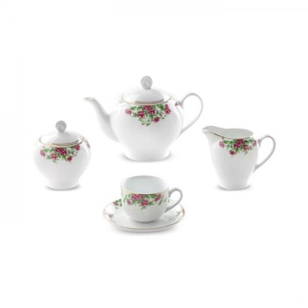 Zarin Iran Italia F Bidgol 17pcs Tea Set