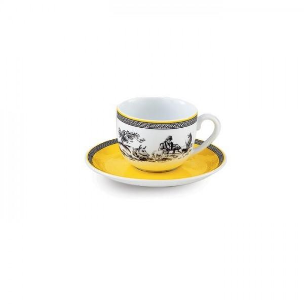 Zarin Iran Italia F Village 12pcs Tea Set