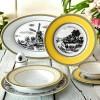 Zarin Iran Italia F Village 102pcs Dinnerware Set