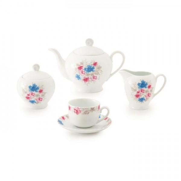 Zarin Iran Italia F Silvian 17pcs Tea Set