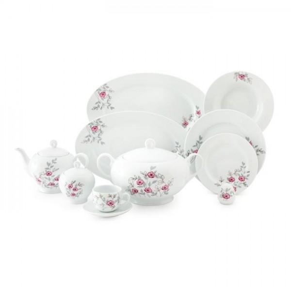 Zarin Iran Italia F Pamchal Flower 102pcs Dinnerware Set