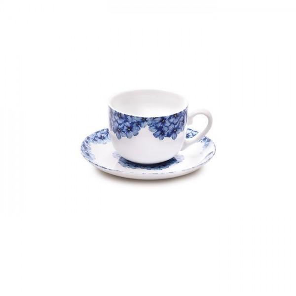 Zarin Iran Italia F Golshid Blue 12pcs Tea Set