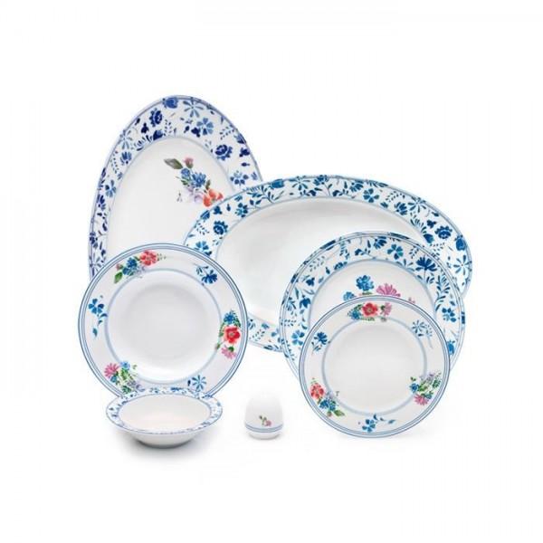 Zarin Iran Italia F Granada 28pcs Dinnerware Set
