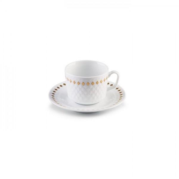 Zarin Iran Radiance Golden Ray 12pcs Tea Set