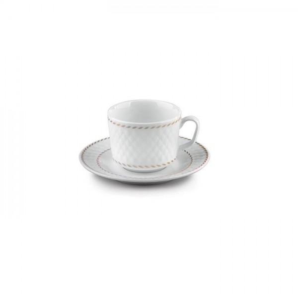 Zarin Iran Radiance Milano White 12pcs Tea Set
