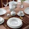 Zarin Iran Radiance Milano White 102pcs Dinnerware Set