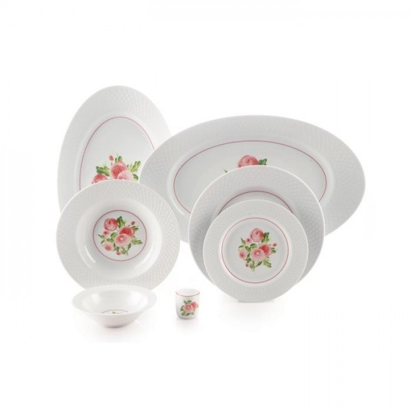 Zarin Iran Radiance Rosemont 28pcs Dinnerware Set