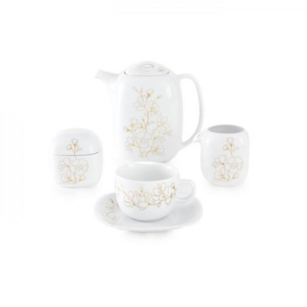 Zarin Iran Quattro Cherry Blossom 17pcs Tea Set