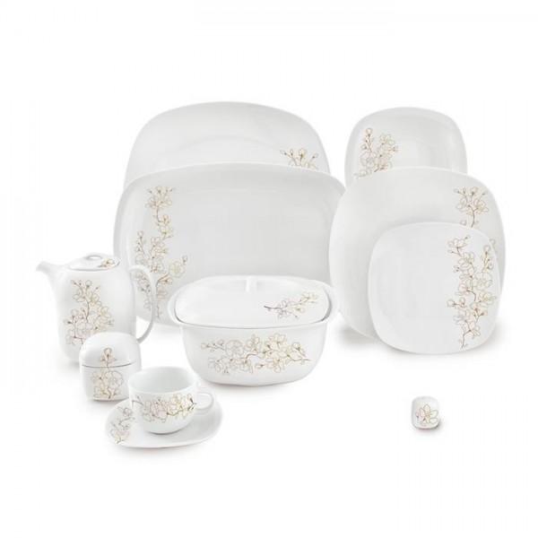 Zarin Iran Quattro Cherry Blossom 98pcs Dinnerware Set